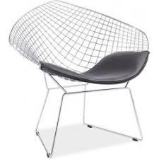 Diamond Armchair Designer Metal Bistro Chairs For Kitchen Or Stylish Restaurant