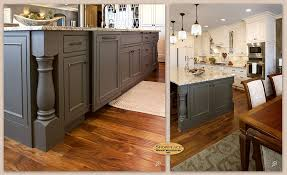kitchen central island cabinets the large central island in this l shaped showplace