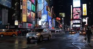 new york city ny november 25 times square during the week of