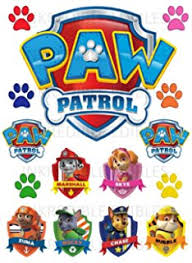 paw patrol cake toppers action figures puppy patrol dog kids toy