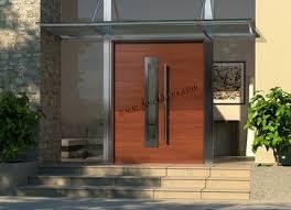 Front Door Awnings Wood Modern Door Awning Designs Modern Contemporary Entry Doors