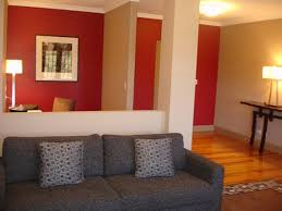 modern two tones interior house paint ideas mixed with white wall