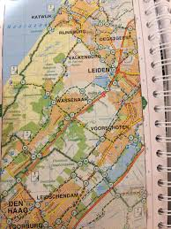 Map Book How To Read A Cycle Route Map Of The Netherlands Bromptoning