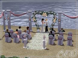 wedding arches in sims 3 beo s wedding on the