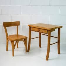 Schreibtisch Kinder Vintage Kinder Schreibtisch U0026 Stuhl Set Von Baumann Bei Pamono Kaufen