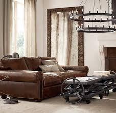 Luxe Sofa Frame Original Lancaster Leather Sofa