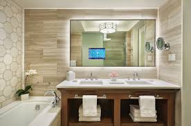 Tv In Mirror Bathroom by The Golf Travel Guru February 2015