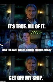 Han Shot First Meme - han shot first imgflip