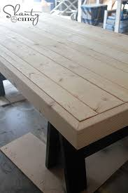Plans For Building A Wood Coffee Table by Best 25 Diy Outdoor Table Ideas On Pinterest Outdoor Wood Table
