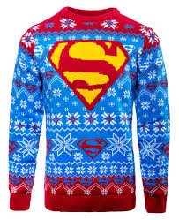 knitted sweater superman kryptonian knitted sweater jumper merchoid