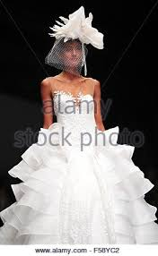 wedding dress designer indonesia jakarta indonesia 30th oct 2015 a model presents a creation by