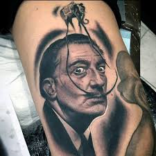 50 salvador dali elephant tattoo designs for men painting ink ideas