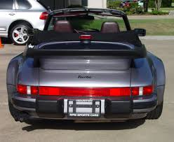 porsche whale tail 1989 porsche 911 turbo cabriolet german cars for sale blog