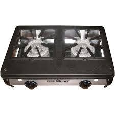 Two Burner Gas Cooktop Propane Camp Chef Compact Two Burner Propane Stove U2014 34 000 Btu 20 1 2in