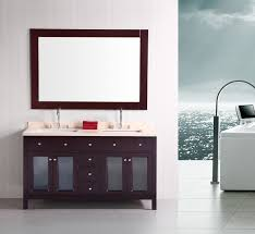 bathroom solid wood double sink bathroom vanities with bowl sink