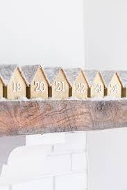 wood advent calendar diy wooden houses advent calendar sugar and charm sweet recipes