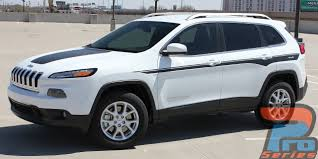 2017 jeep cherokee sport chief 2013 2017 jeep cherokee upper body line accent vinyl