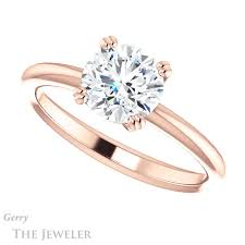 verlobungsring solitã r solitaire engagement ring setting gtj1220 r gerry the jeweler