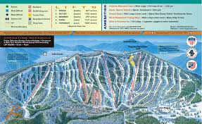 map of colorado ski resorts us ski resorts map 24x36 poster mt baldy trail map