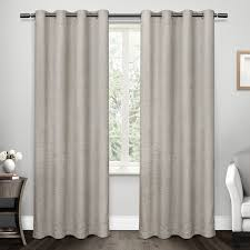 three posts etelvina solid room darkening grommet curtain panels