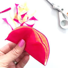 tissue paper flowers printable instructions tissue paper flowers make easy tissue paper flowers with these step