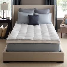 Feather Bed Toppers Allerrest Mattress Topper Protector Pacific Coast Bedding