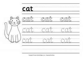 cat word tracing
