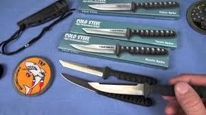 Cold Steel Kitchen Knives Review by Cold Steel Vs Crkt Best Neck Knives By Nutnfancy Youtube