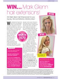 Wedding Hair Extensions Before And After by From Bleached To Beautiful And Wedding Ideas Readers Can Win