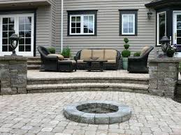 patio ideas concrete steps front door house entrance stairs