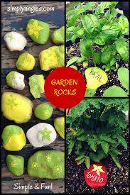 Painted Rocks For Garden by Painted Garden Rocks Simply Angie