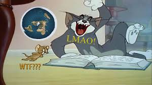 Reading Book Meme - flat earth meme tom jerry tom reading a globe earth book youtube