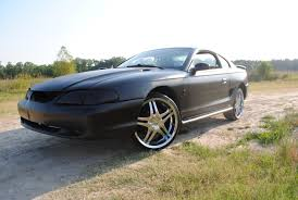 All Black Mustang Usarmysniper 1998 Ford Mustangcoupe 2d Specs Photos Modification