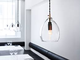 Glass Kitchen Pendant Lights Buy The Northern Unika Pendant Light Clear Glass At Nest Co Uk
