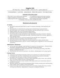 customer service resume samples free template design