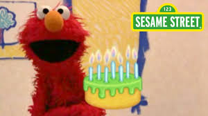 sesame street elmo u0027s birthdays