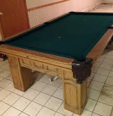 Gandy Pool Table Prices by 16 Best 7 U0027 Used Slate Pool Tables For Sale Prices Vary By Location