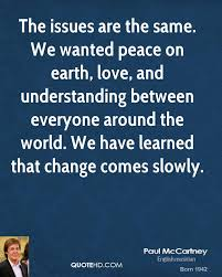 Love And Change Quotes by Paul Mccartney Quotes Quotehd