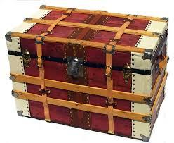 vintage twin belt box trunk omero home