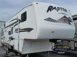 used 2007 keystone rv raptor 3612 ds toy hauler fifth wheel at ac