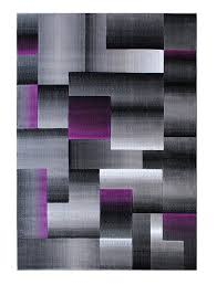 Modern Purple Rugs Masada Rugs Modern Contemporary Area Rug Purple Grey