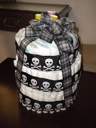 Halloween Skull Cakes by How To Diy Diaper Cake Halloween Theme For Boy Quick Easy Youtube