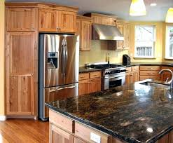 rustic hickory kitchen cabinets knotty hickory cabinets a rustic hickory kitchen knotty hickory