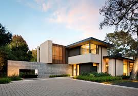 modern house california this california home preserved the existing trees to maintain a