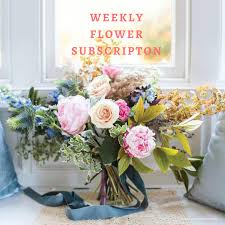 weekly flower delivery weekly flower subscription in astoria ny petals roots