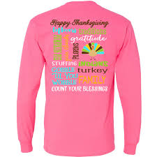 thanksgiving tshirt monogrammed thanksgiving sleeve t shirt