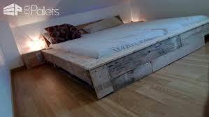 pallet bed frame u2022 1001 pallets