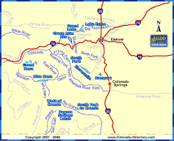 Colorado rivers images Colorado map of fishing in rivers lakes streams reservoirs jpg