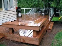 Deck Bench Bracket Diy Outdoor Bench Seat With Storage Deck Bench Seating Photos Deck