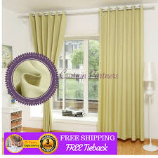 blackout green bedroom door fabric curtain design drapes sheer